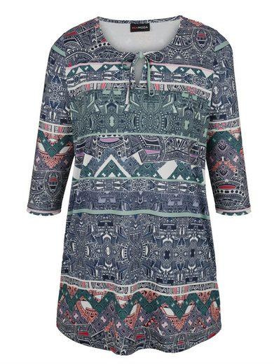 MIAMODA Tunika in angenehmer Shirt-Qualität