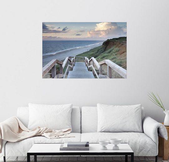 Posterlounge Wandbild - Markus Lange »Klippen bei Kampen, Sylt«