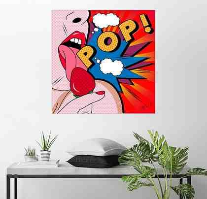 Posterlounge Wandbild - Mark Ashkenazi »Lolly-Pop«