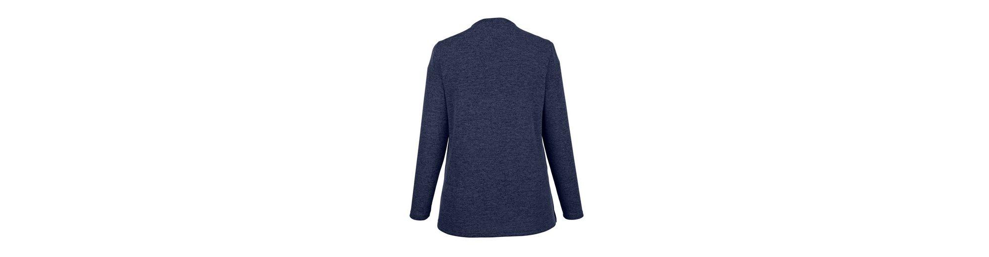 in in 2 1 bedrucktem MIAMODA vorne MIAMODA mit Einsatz 2 Shirt 1 Shirt wZU6U4