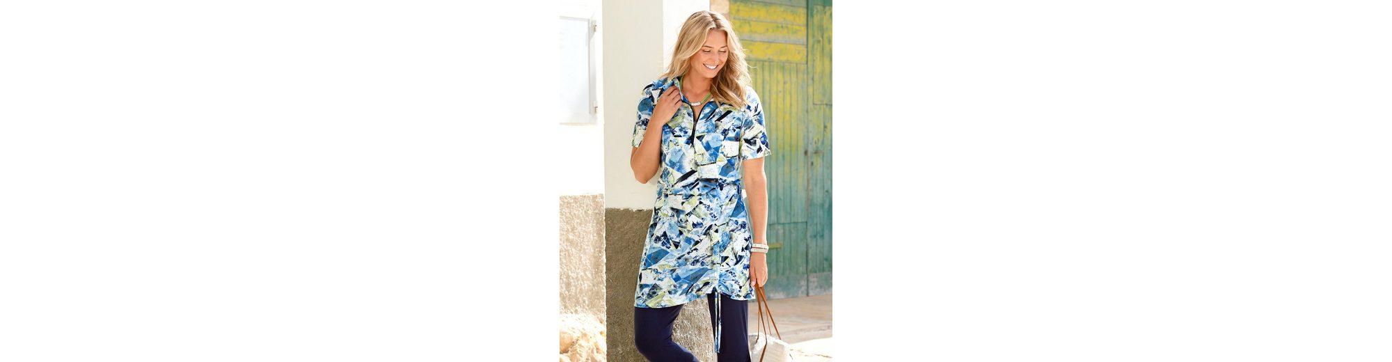 MIAMODA Shirtkleid am Saum zum Raffen Günstig Kaufen Spielraum Store Online Günstig Online Billig Verkauf Outlet-Store Aaa Qualität amI07Bjx