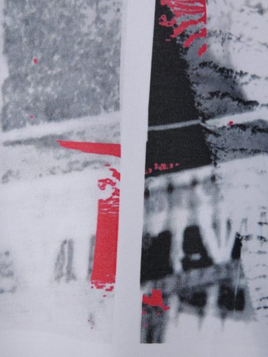 MIAMODA Longshirt mit Dekoband am Ärmel