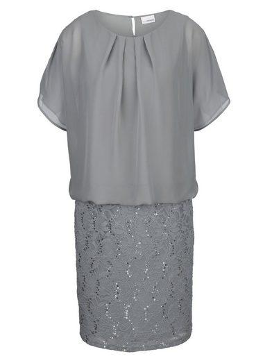MIAMODA Kleid in 2-in-1 Optik