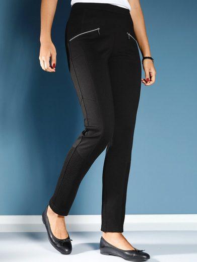 MIAMODA Hose aus hochwertigem Jersey-Viskosestoff