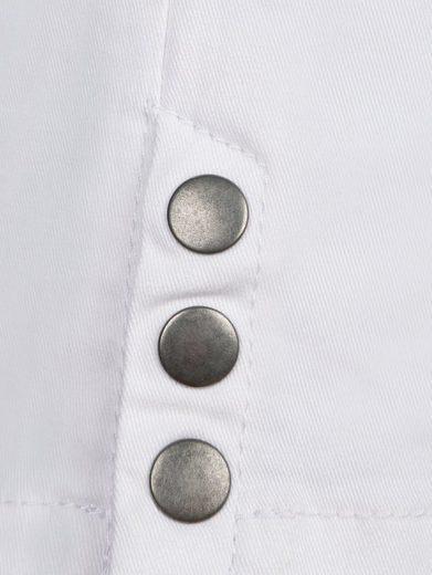 MIAMODA Caprihose mit aufgestickter Taschenoptik