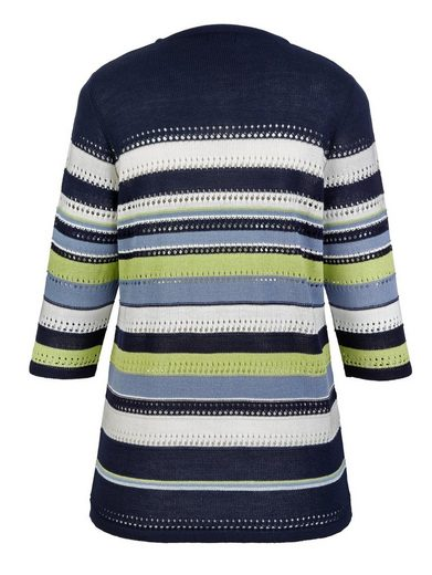 MIAMODA Pullover im Ringel-Design