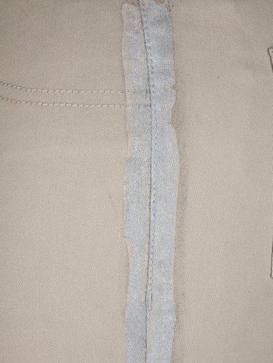 MIAMODA Hose seitlich mit aufgedrucktem Streifen