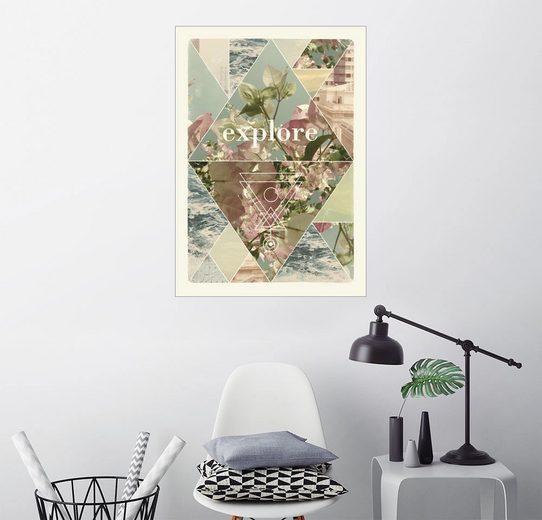 Posterlounge Wandbild - Florent Bodart »eXPLORE I A1«