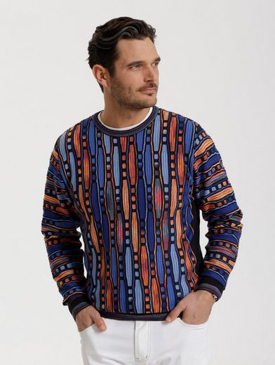 Babista Jumper With Elaborate Knitting Pattern