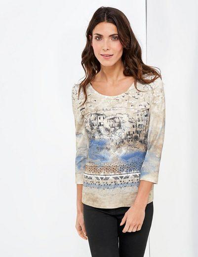 Gerry Weber T-shirt 3/4 Arm 3/4 Arm Shirt Mit Smartem Print
