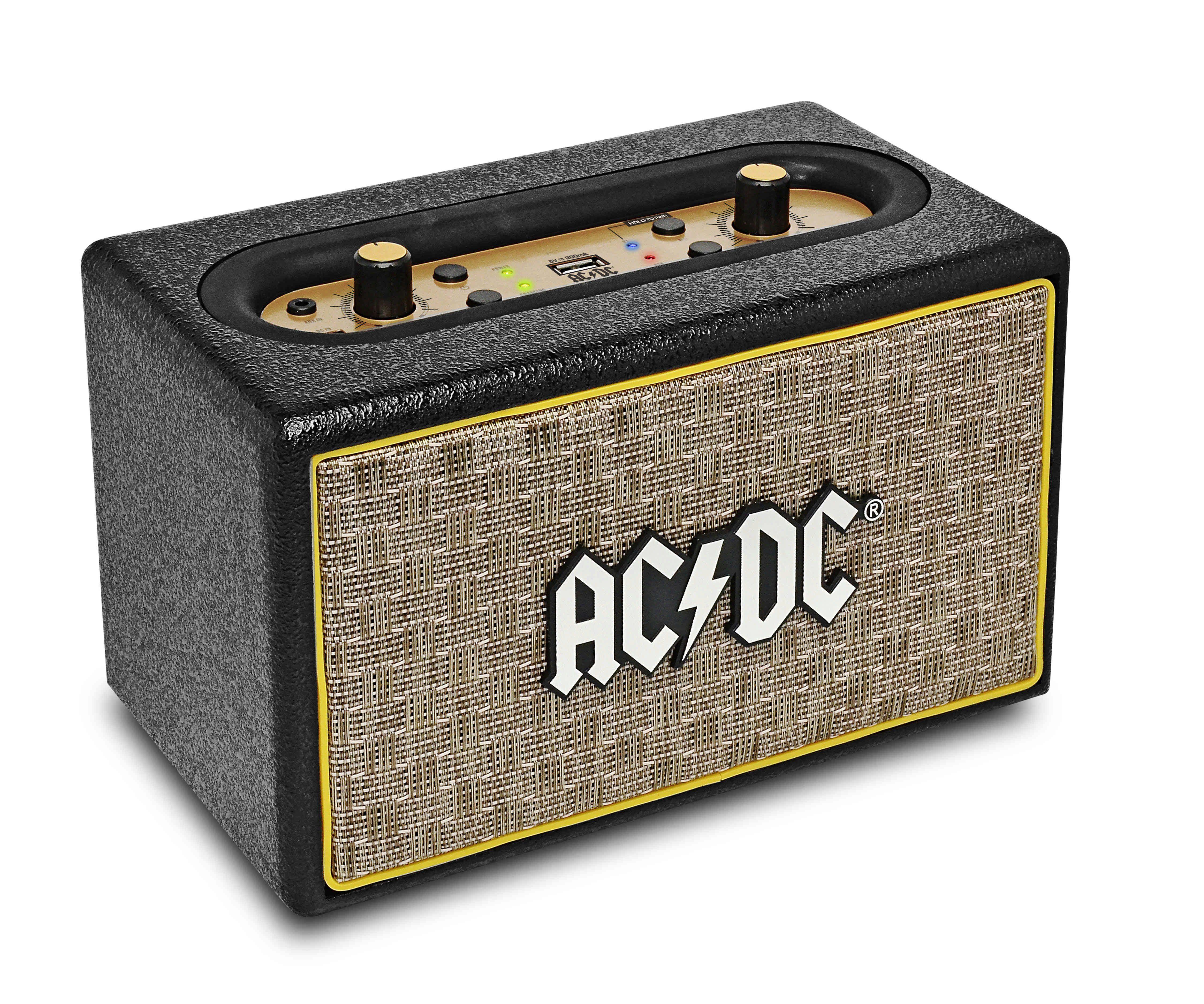 iDance Tragbarer 50 Watt Lautsprecher mit Bluetooth »ACDC Classic 2«