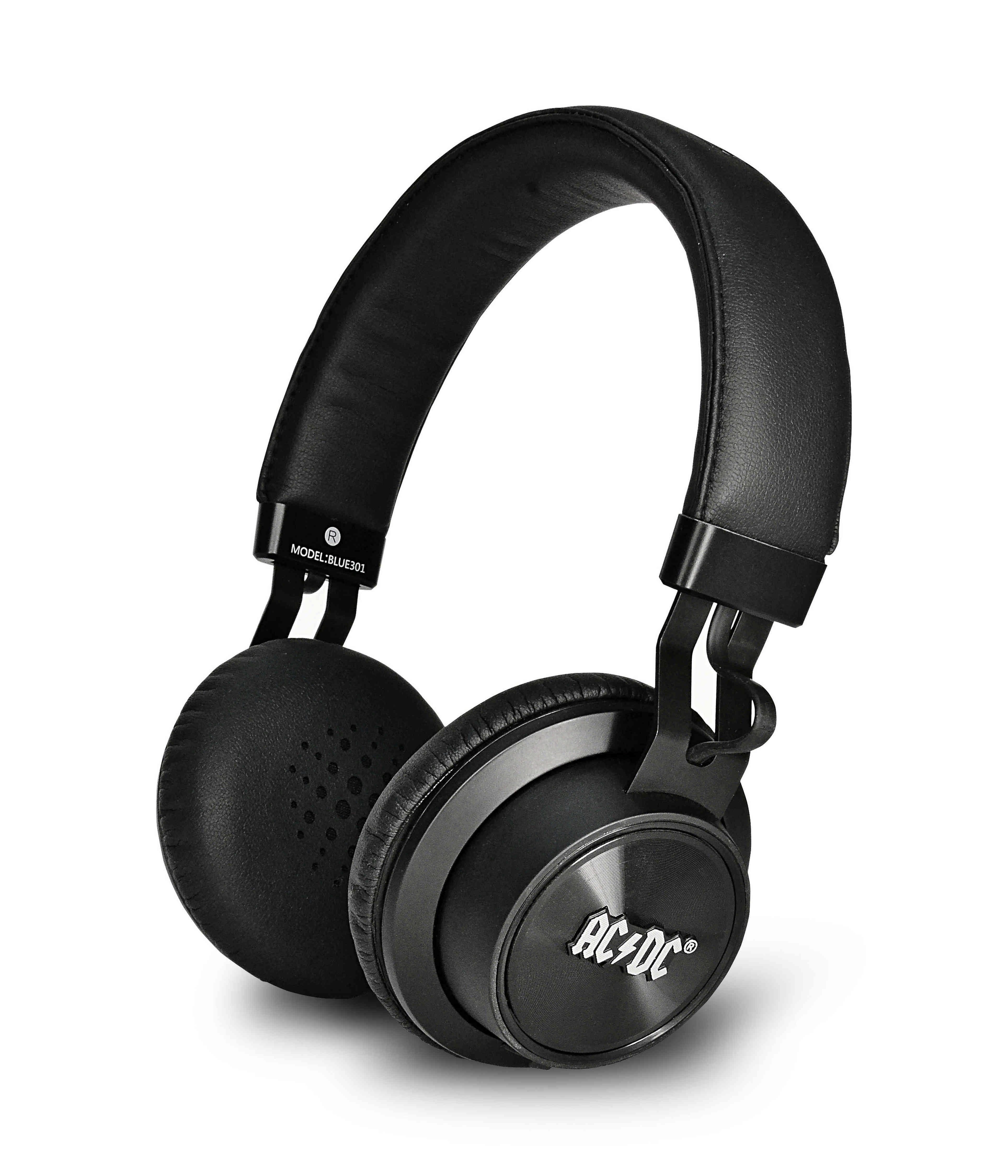 iDance Over Ear Kopfhörer mit Bluetooth »ACDC Blue 301«