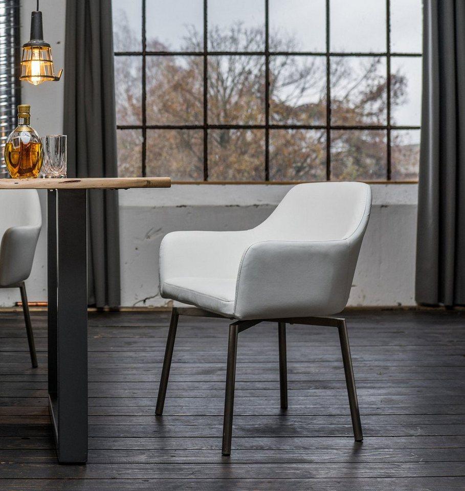 Art Wohndesign: Kasper-Wohndesign Drehstuhl Kunstleder Oder Microfaser
