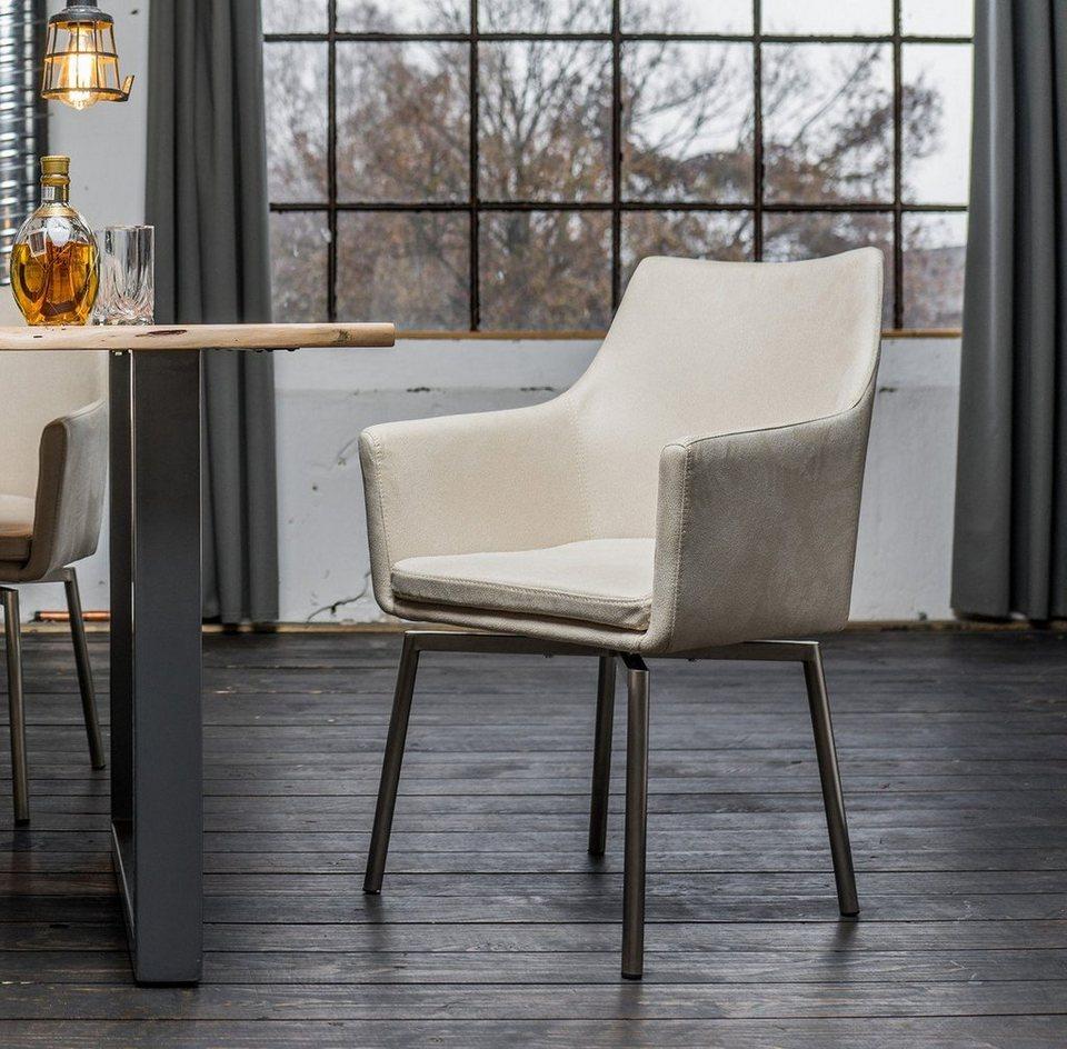 kasper wohndesign drehstuhl stoff versch farben cali online kaufen otto. Black Bedroom Furniture Sets. Home Design Ideas