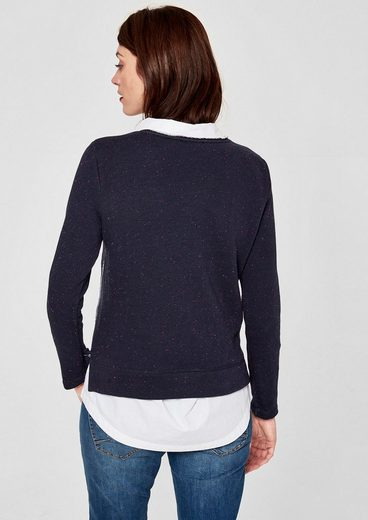 s.Oliver RED LABEL Sweater mit Print-Collage