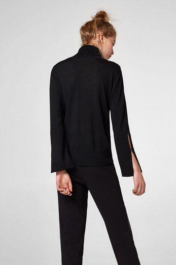 ESPRIT Feinstrick-Sweater mit Rollkragen