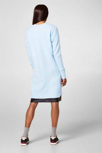 ESPRIT Softer Cardigan mit Wolle und Stretch