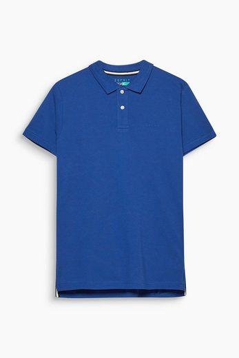 ESPRIT Piqué-Poloshirt aus Organic Cotton