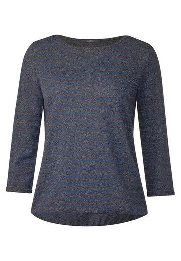 CECIL Ringel Shirt mit 3/4-Ärmeln