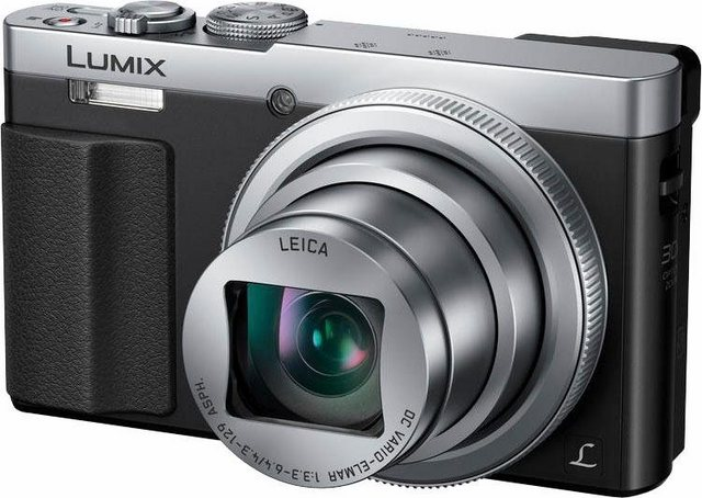 Digitalkameras - Panasonic »DMC TZ71EG« Superzoom Kamera (LEICA DC VARIO ELMAR F3,3 6,4, 12,1 MP, NFC, WLAN (Wi Fi), HDR Aufnahme, Gesichtserkennung)  - Onlineshop OTTO