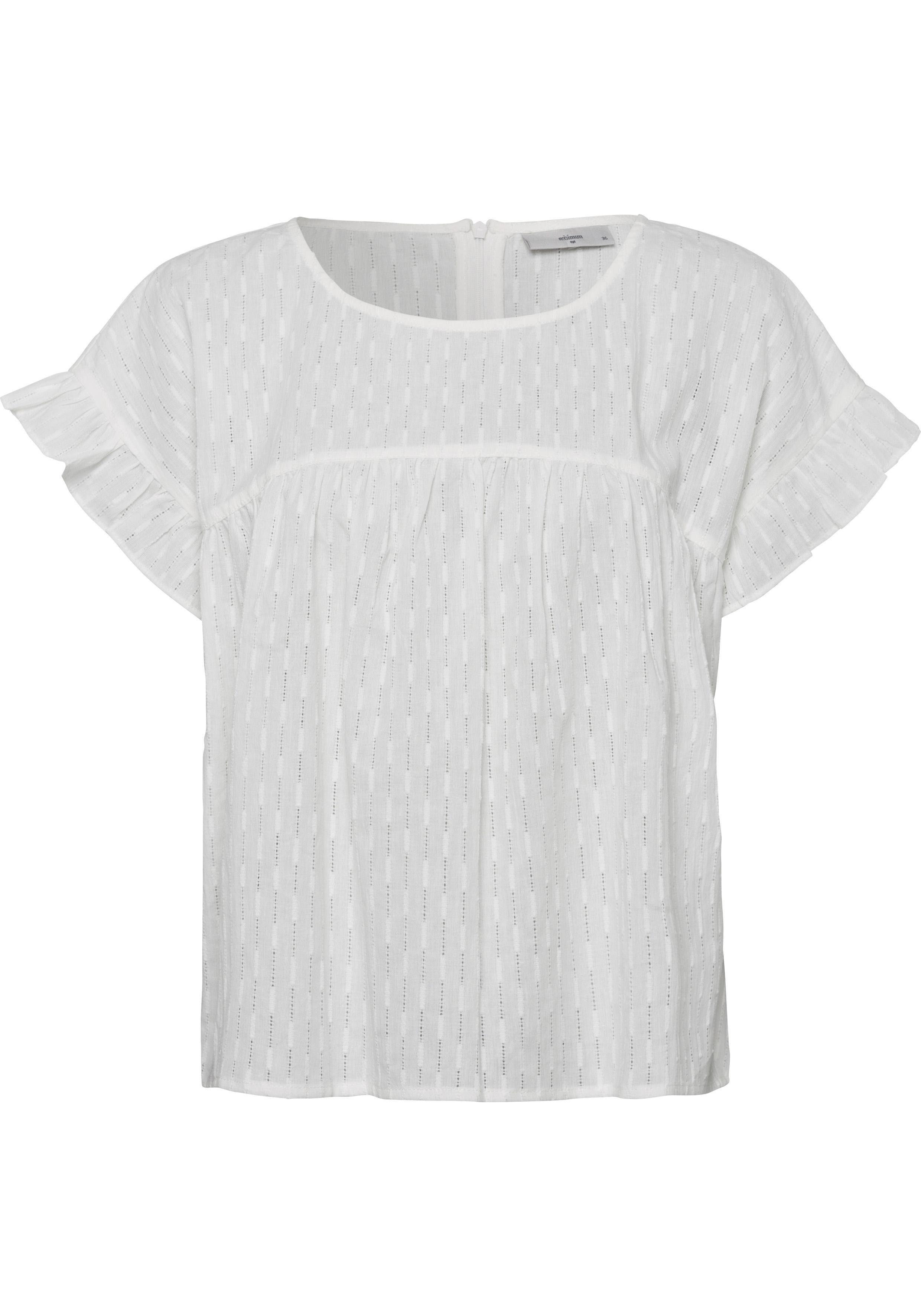 minimum Blusenshirt »Brianette« mit feinem Lochmuster
