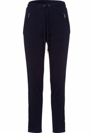 minimum Jogger Pants Cathy, mit applizierten Seitenstreifen