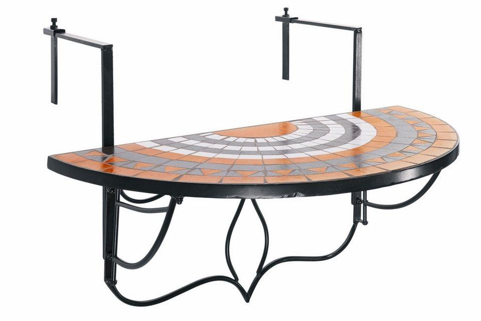 heine home balkontisch zum einh ngen online kaufen otto. Black Bedroom Furniture Sets. Home Design Ideas