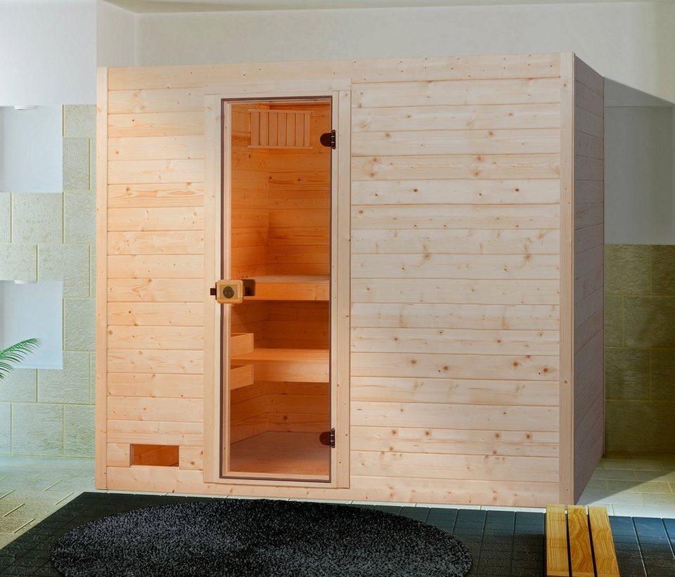 weka sauna lars trend 1 189x139x203 5 cm 9 kw ofen mit int steuerung online kaufen otto. Black Bedroom Furniture Sets. Home Design Ideas