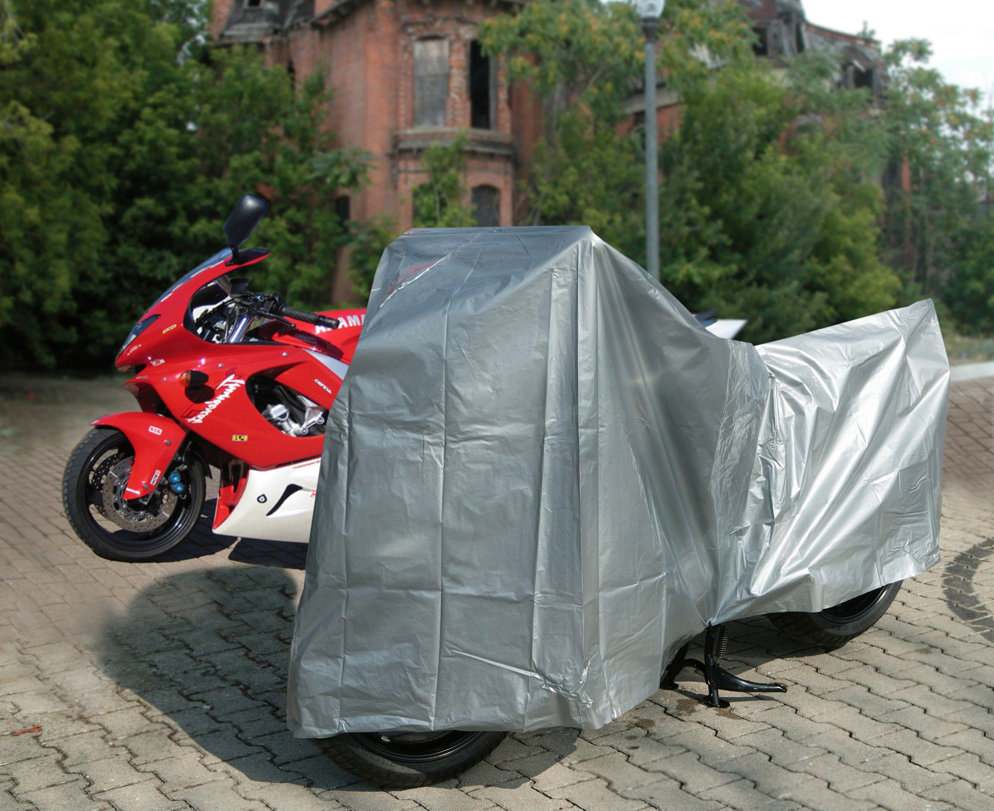 UNITEC Stoffgarage , Motorrad-Garage PE über 350ccm