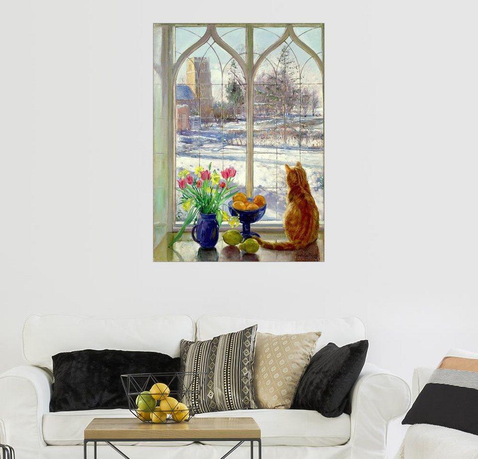posterlounge wandbild timothy easton schneeschatten und. Black Bedroom Furniture Sets. Home Design Ideas
