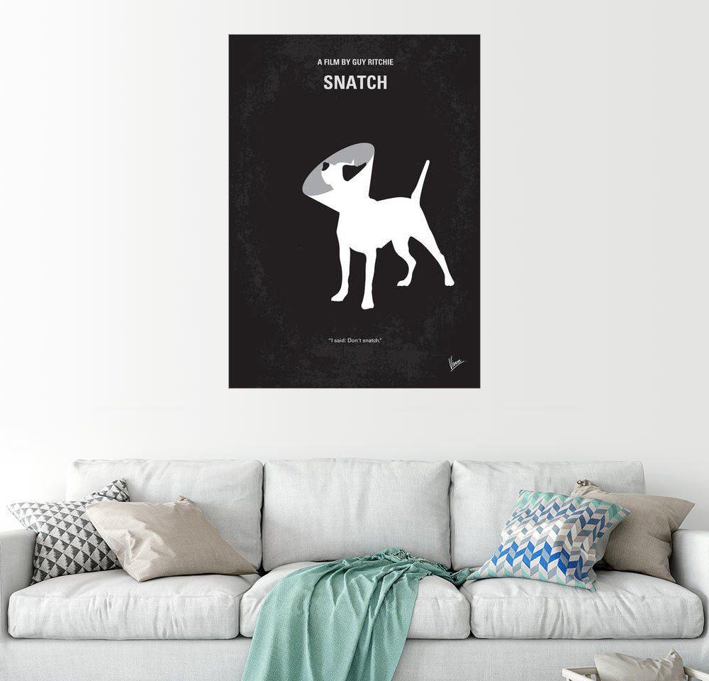 Posterlounge Wandbild - chungkong »No079 My Snatch minimal movie poster«