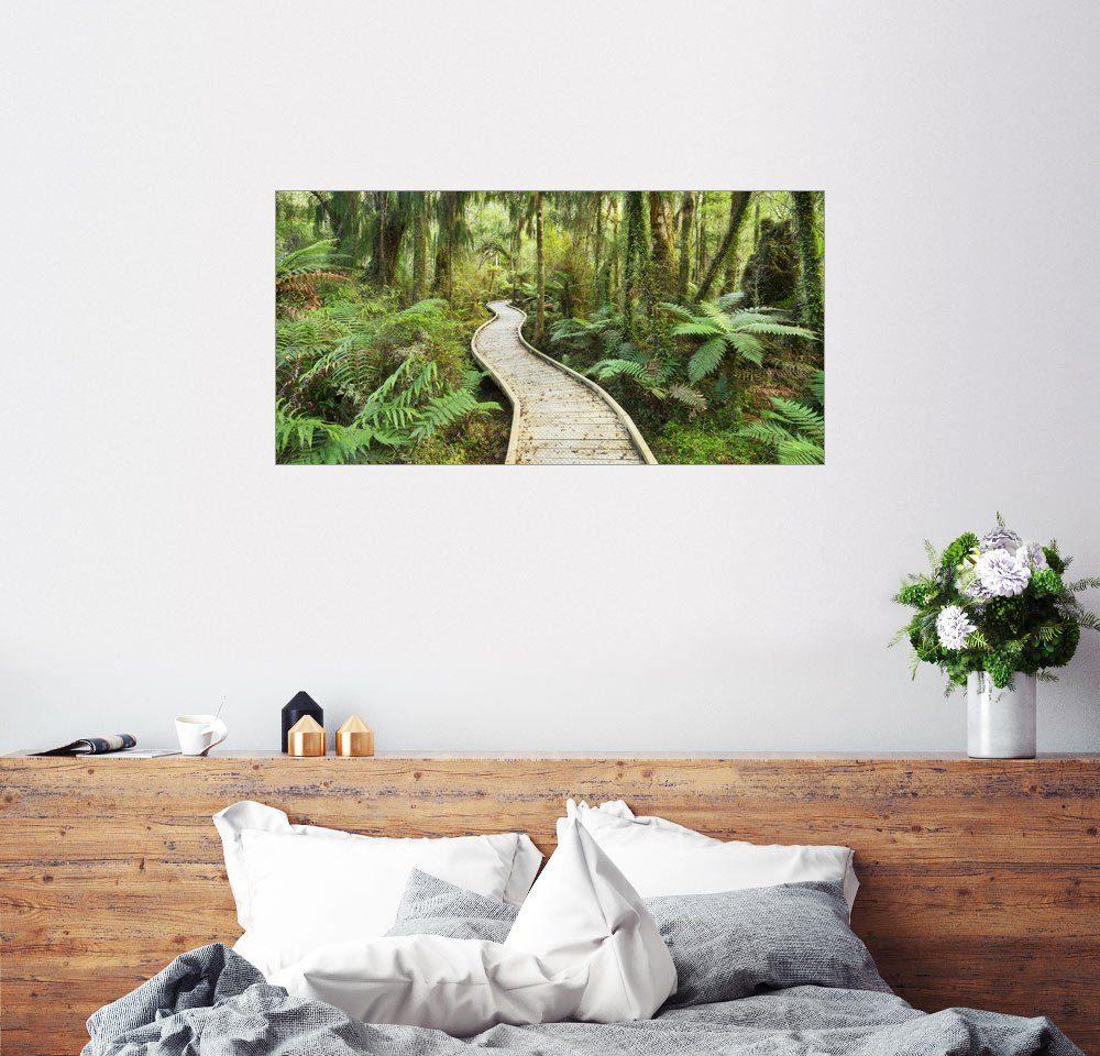 Posterlounge Wandbild - Rainer Mirau »Dschungelpfad«
