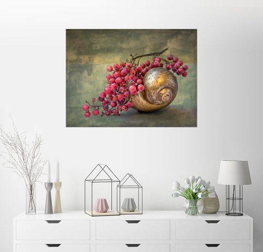 Posterlounge Wandbild - Lizzy Pe »die goldene Schnecke«