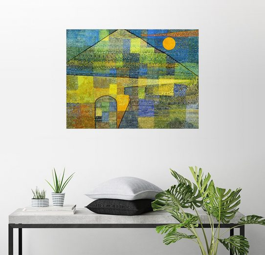 Posterlounge Wandbild - Paul Klee »Ad Parnassum«