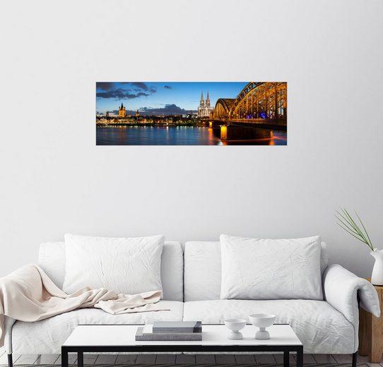 Posterlounge Wandbild - euregiophoto »Köln Panorama«