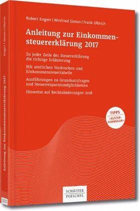 Broschiertes Buch »Anleitung zur Einkommensteuererklärung 2017«