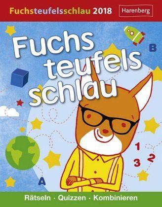 Kalender »Fuchsteufelsschlau 2018«