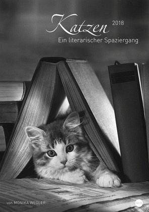 Kalender »Katzen - Ein literarischer Spaziergang 2018«