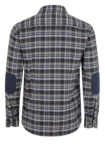 East Club London Hemd im Ellenbogen-Patches