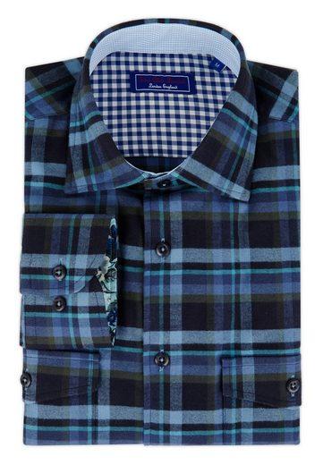East Club London Hemd im Karo-Design