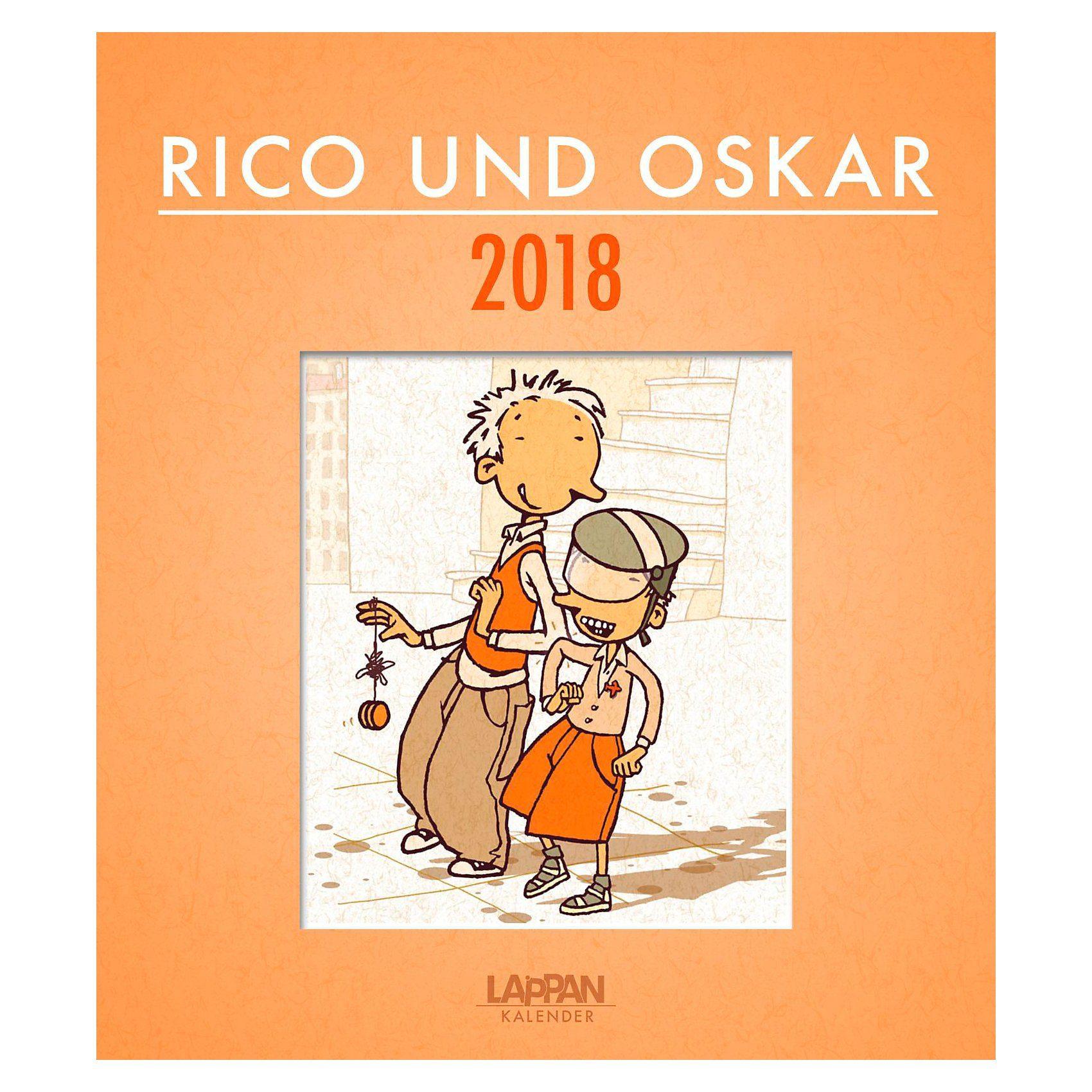 Lappan Verlag Rico und Oskar, Kalender
