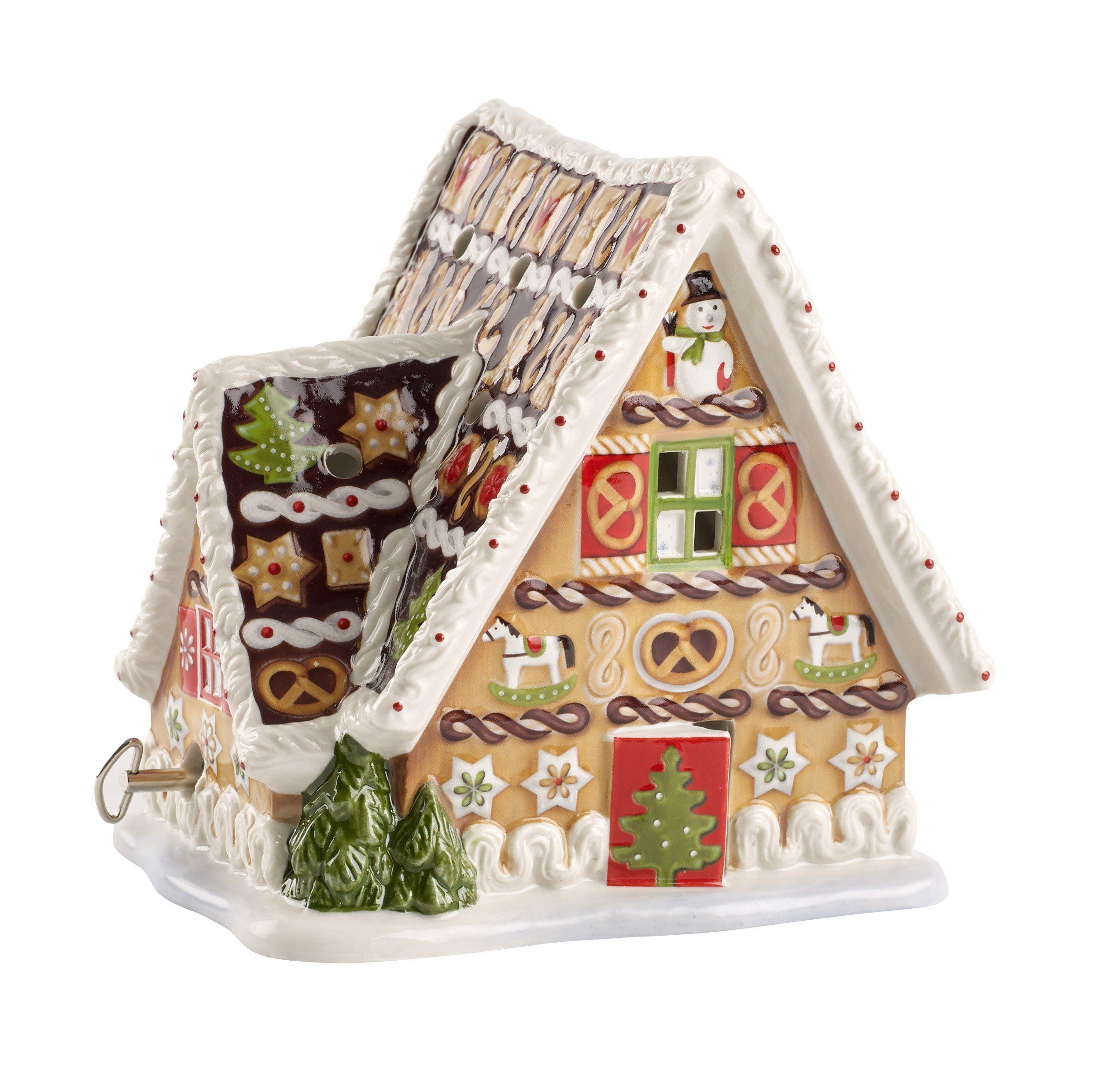 Villeroy & Boch Lebkuchenhaus mit Spieluhr »Christmas Toys«