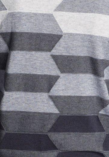 khujo Strickpullover NINO, mit grafischem Muster