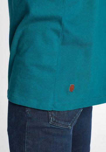 khujo T-Shirt TEEMO, mit Logo auf der Front
