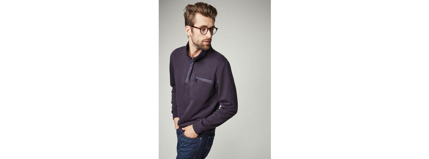Rabatt Für Billig PIERRE CARDIN Sweatshirt in Piqué-Optik - Regular Fit Spielraum Bester Verkauf Verkauf In Deutschland PD83Uhtin