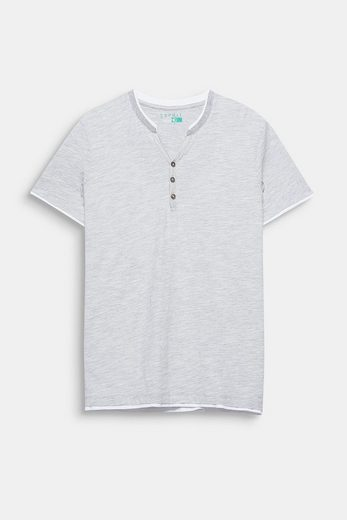 ESPRIT Layer-Shirt aus Jersey, mit Organic Cotton