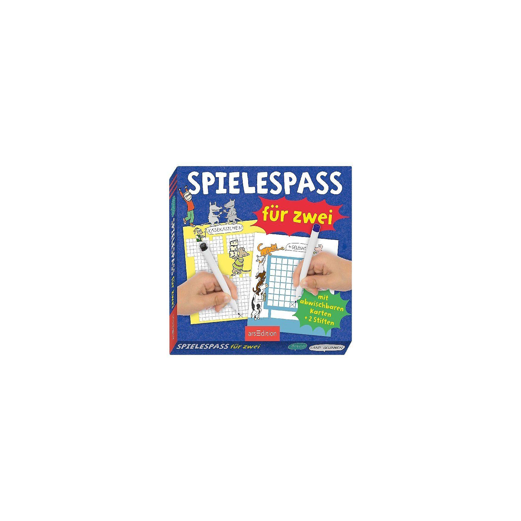 arsEdition Verlag Spielespaß für zwei (Spiel)