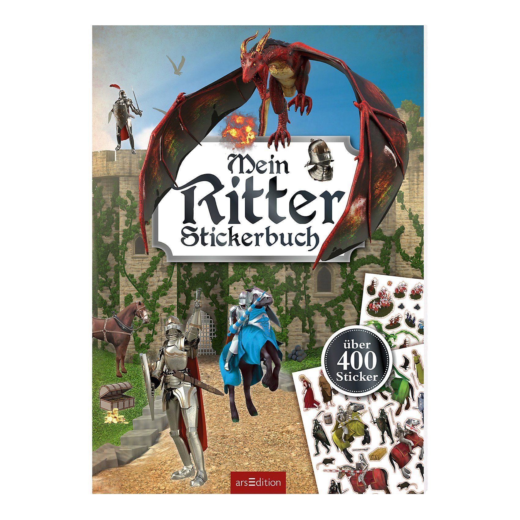 arsEdition Verlag Mein Ritter-Stickerbuch