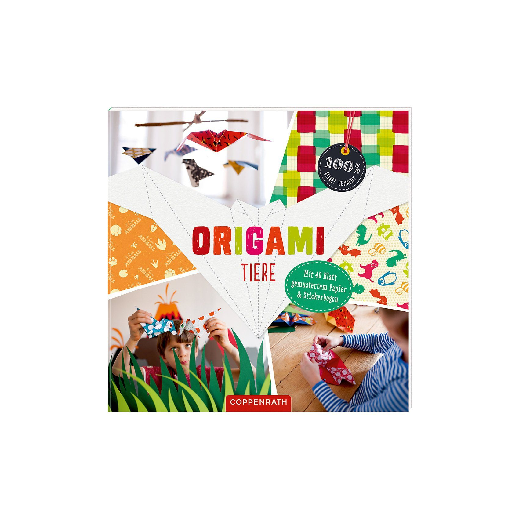 Coppenrath 100% selbst gemacht: Origami Tiere