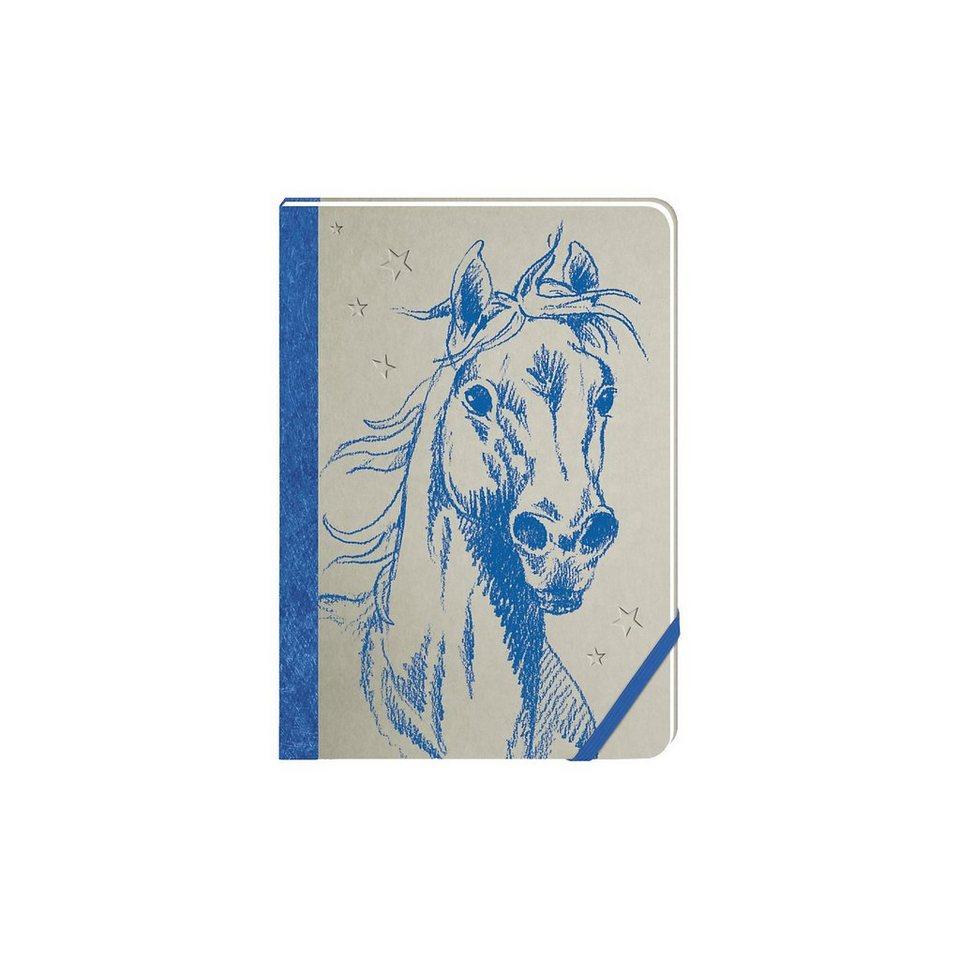 Coppenrath Pferdefreunde: Notizbuch blau kaufen